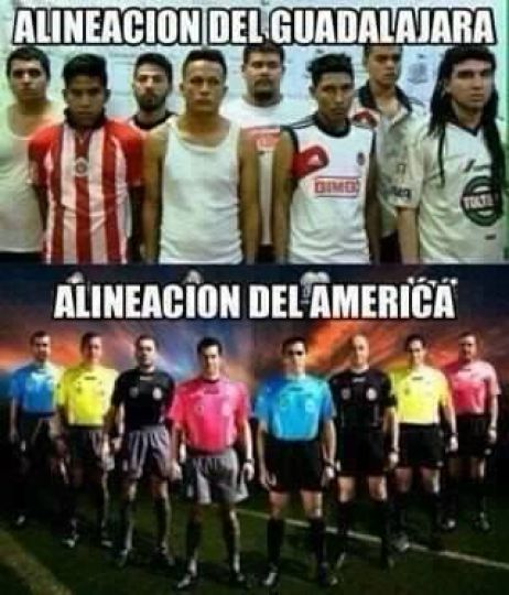 Chivas Guadalajara vs América 0-4 SUPER CLÁ SICO Jornada