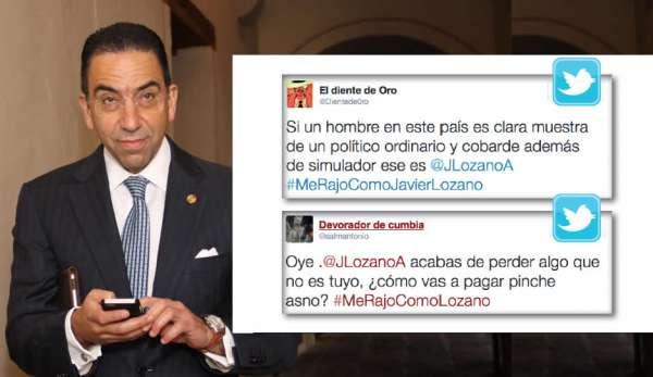 Se raja Javier Lozano: se hace el loco y no va a pedir licencia en el Senado