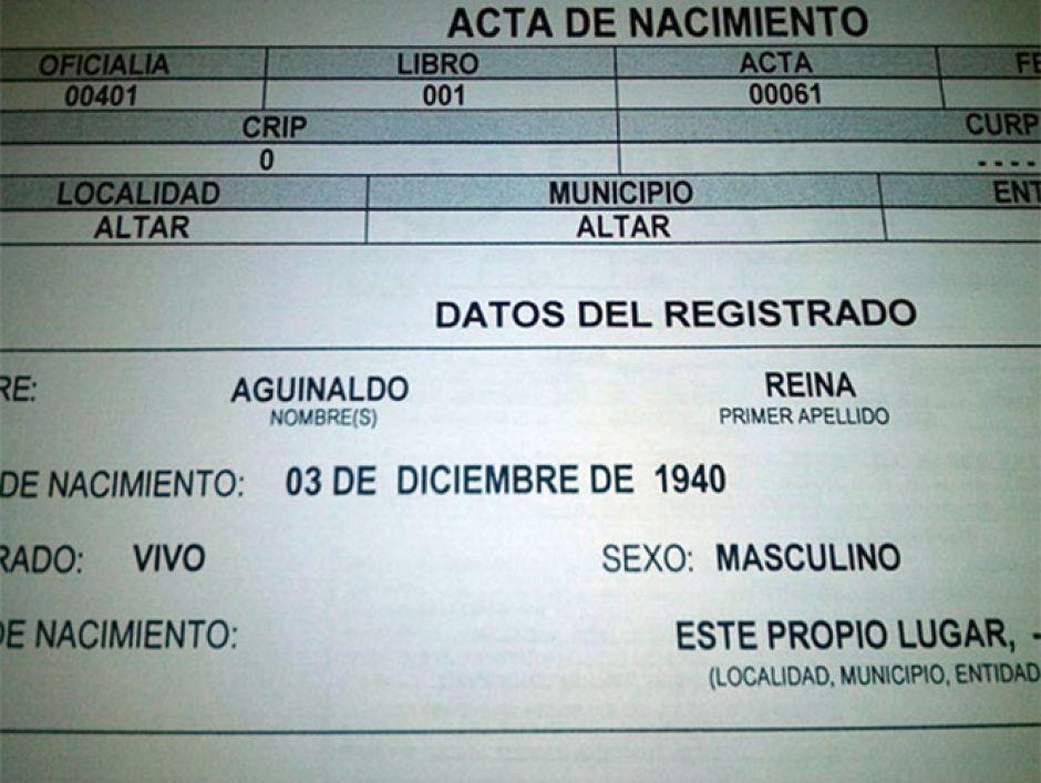 En el Estado de México ya se puede modificar nombres denigrantes ...