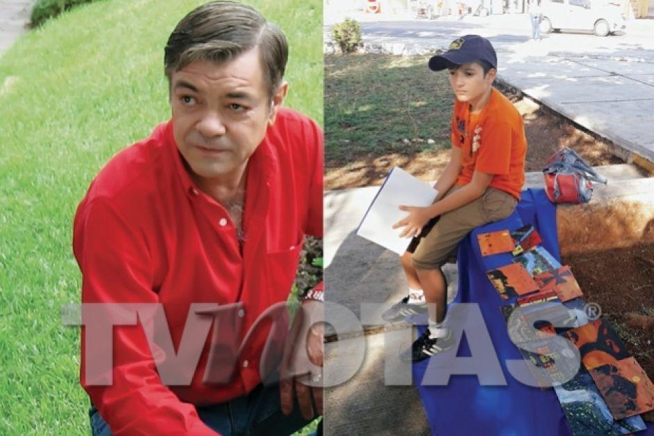 Hijo De Valentín Trujillo Pinta En La Calle Para Comer