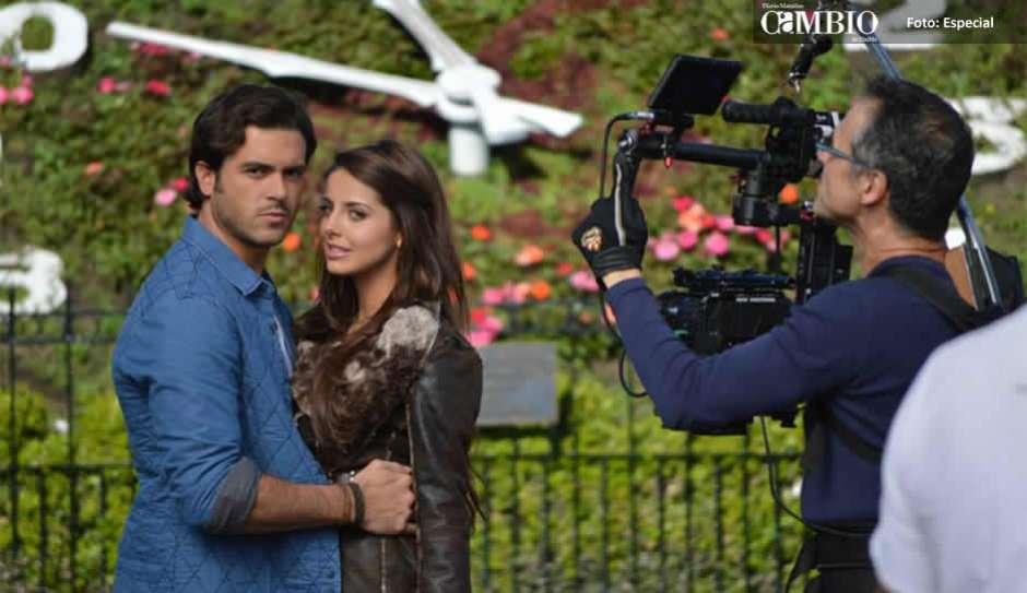 Graban Promocionales De La Telenovela De Televisa En