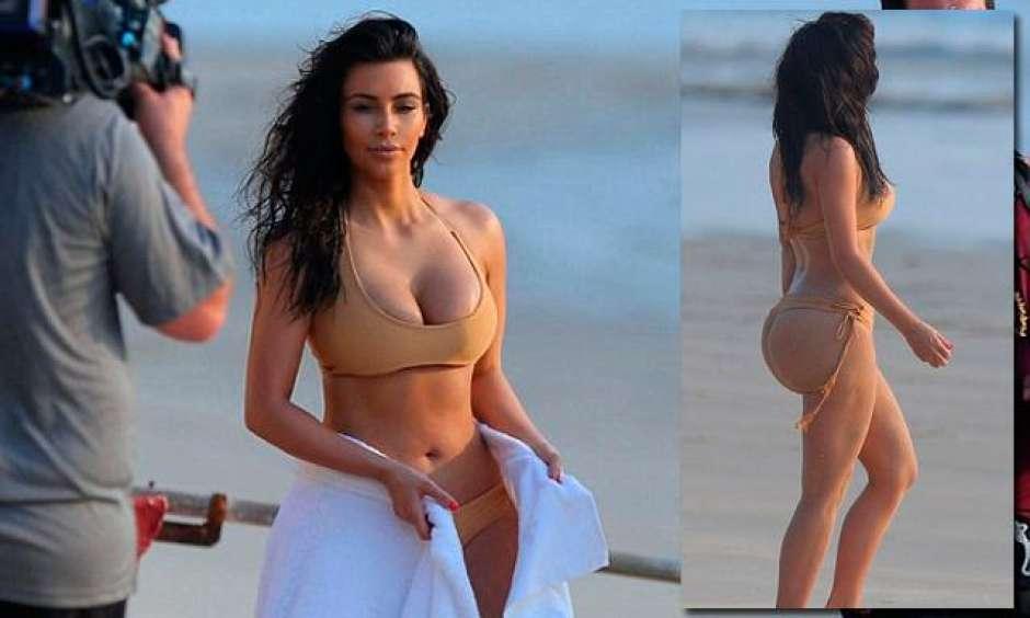 Las 15 fotos desnuda de Kim Kardashian ms polmicas