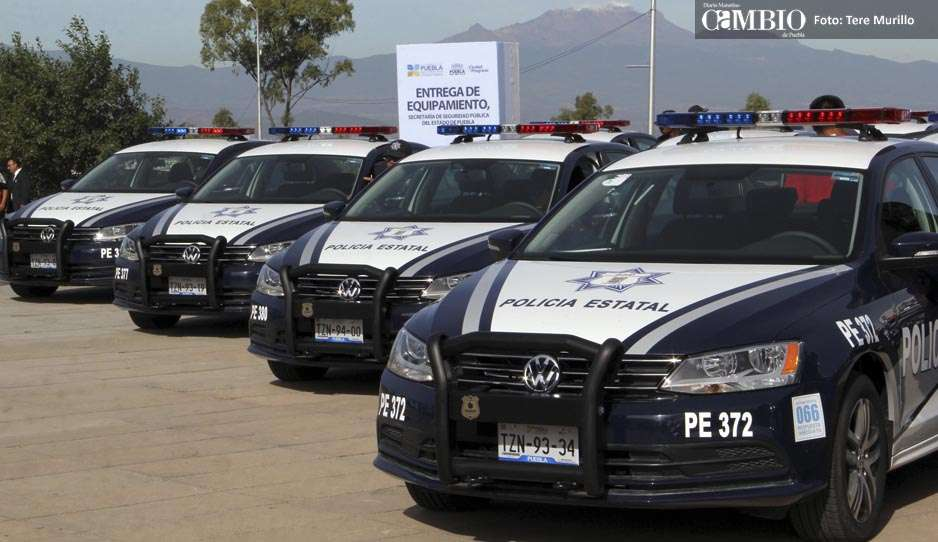 moreno valle entrega primeras  patrullas vw tras dieselgate diario cambio