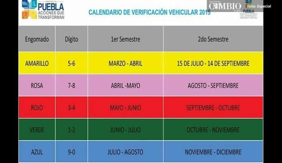 Verificacion Vehicular 2016 En Puebla