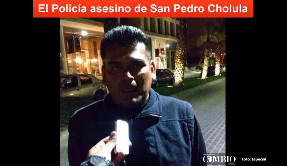 Subdirector de la Policía se entrega tras homicidio de un grafitero en San Pedro Cholula
