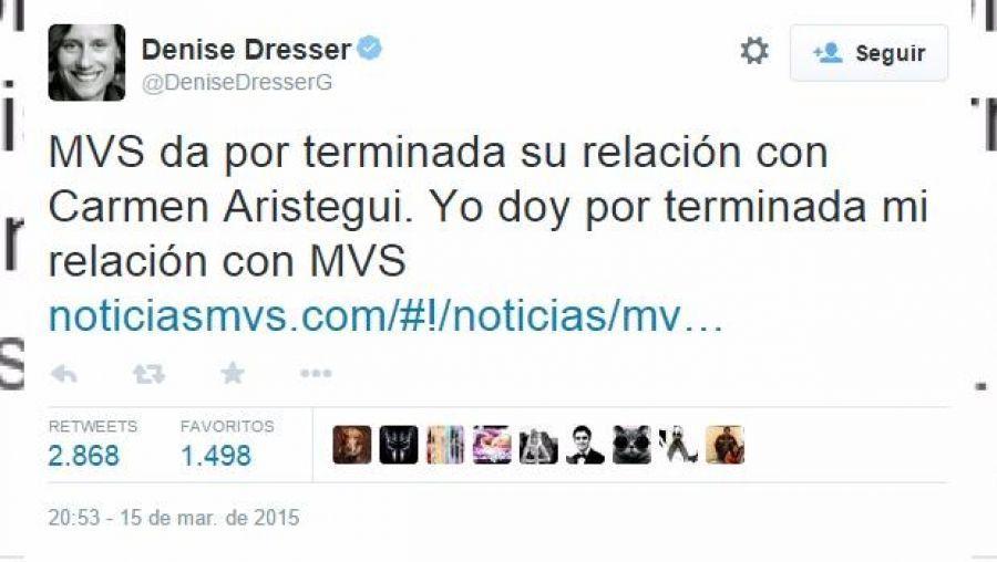 Denise Dresser Rompe Con Mvs Tras Despido De Carmen
