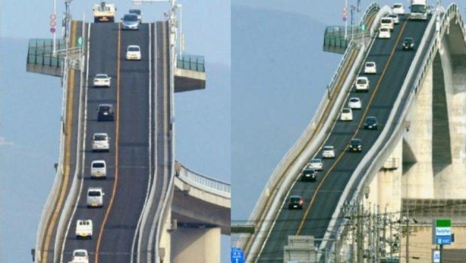 El Puente Vehicular Mas Aterrador Del Mundo Video Diario Cambio