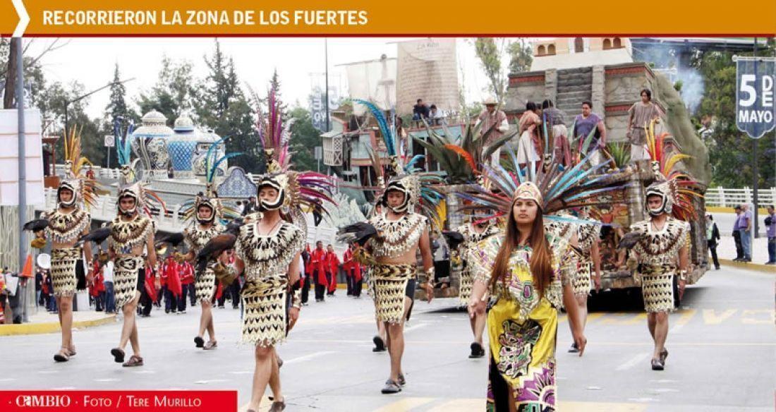 Preparan desfile por la Batalla del 5 de Mayo - Diario Cambio