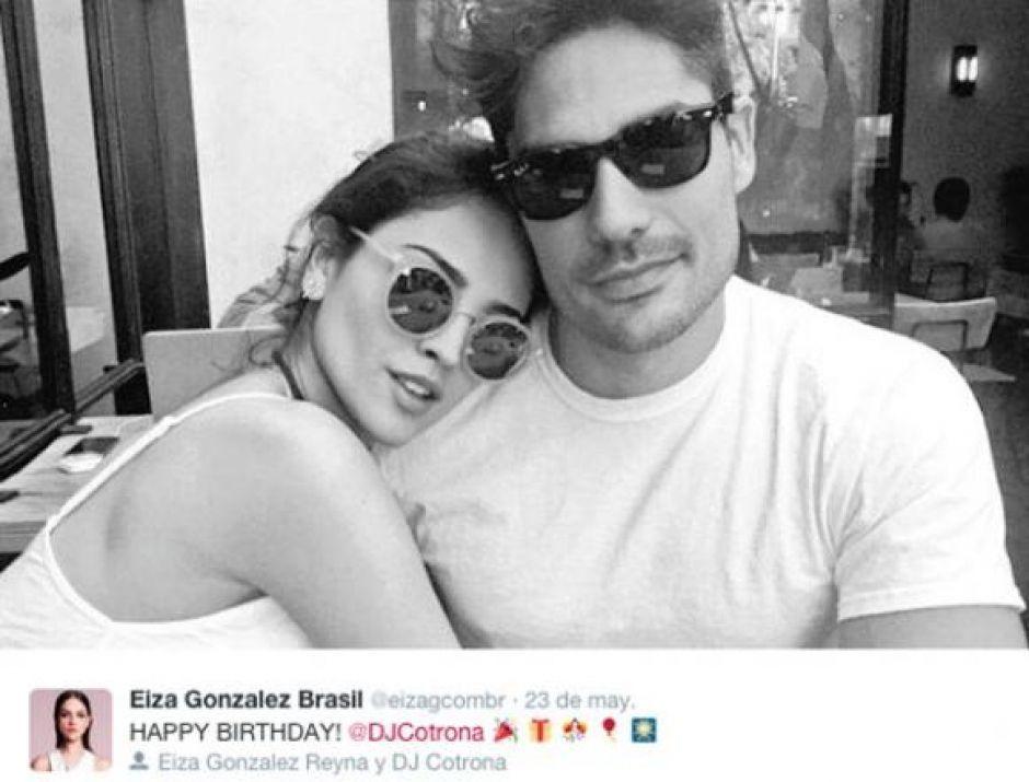 Eiza Gonzalez And Dj Cotrona