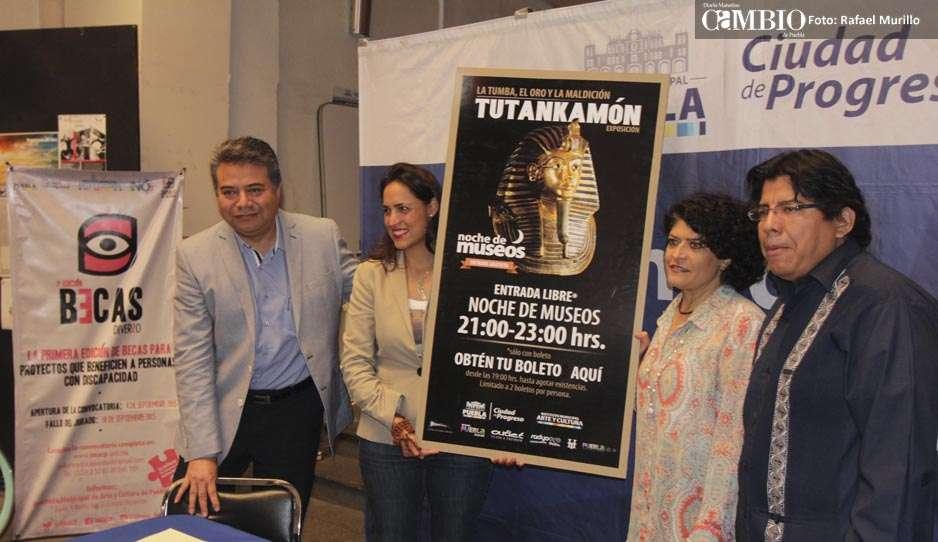 Suman 25 mil visitantes a la exposición de Tutankamón: IMACP