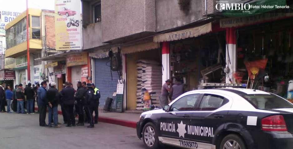 Molesta restricción del estacionamiento en calles céntricas de Texmelucan