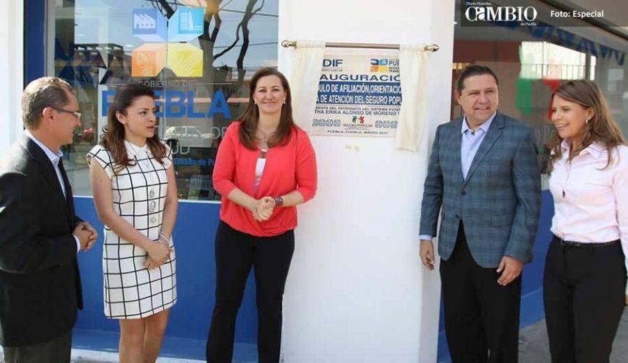 Martha Erika Y Trewartha Inauguran Módulo De Afiliación Al