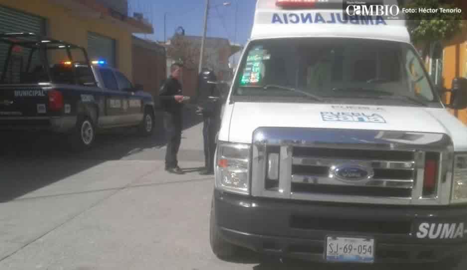 Asaltan a trabajador de Banco Azteca en pleno centro de Texmelucan