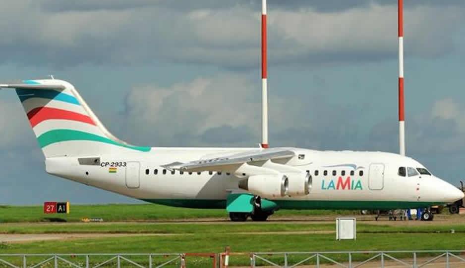 76 muertos y 5 heridos deja accidente del avión del Chapecoense