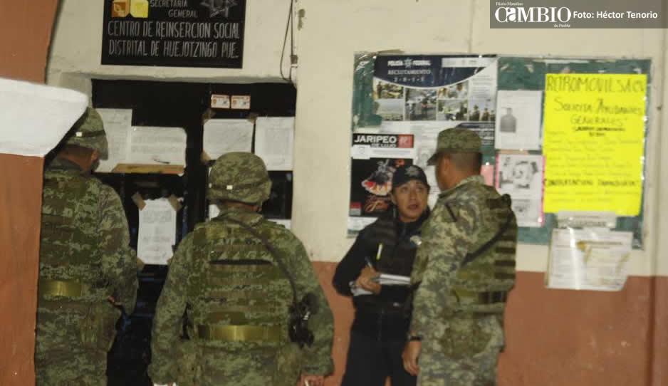 Decomisan drogas, celulares y efectivo en Cereso de Huejotzingo tras operativo