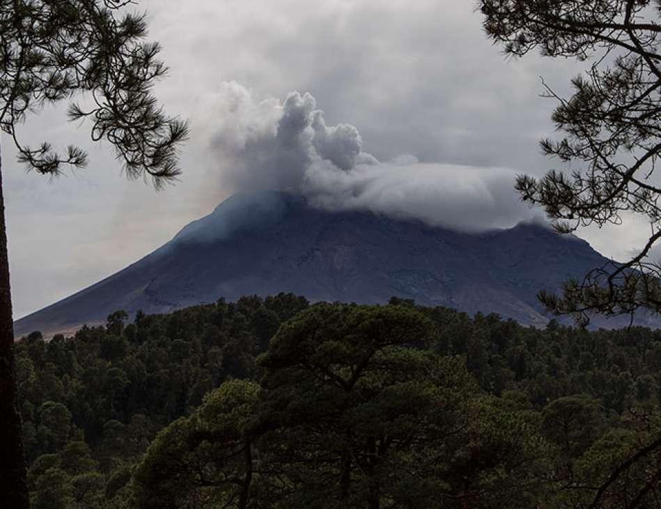 Ruta De Evacuacion Volcan