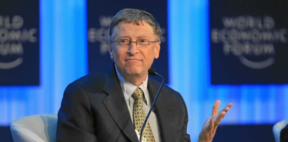 Bill Gates compara a Trump con J. F. Kennedy