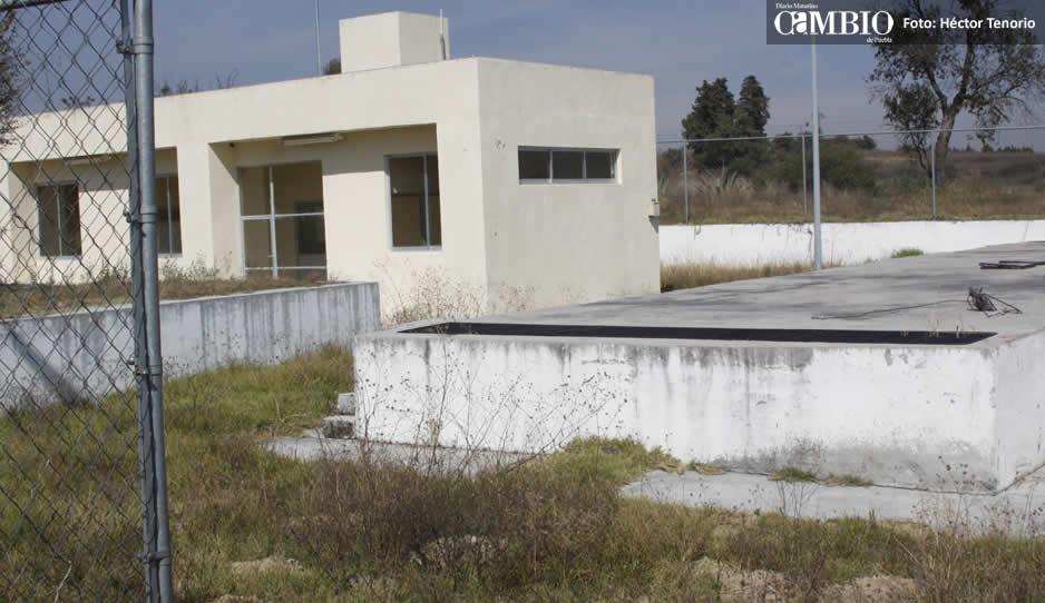 Causa molestias tratadora de agua sin operar en Huejotzingo