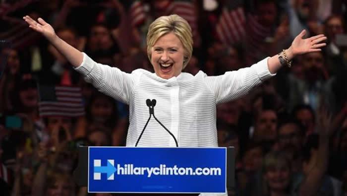 Augura isla de Guam victoria de Hillary — Elección EU