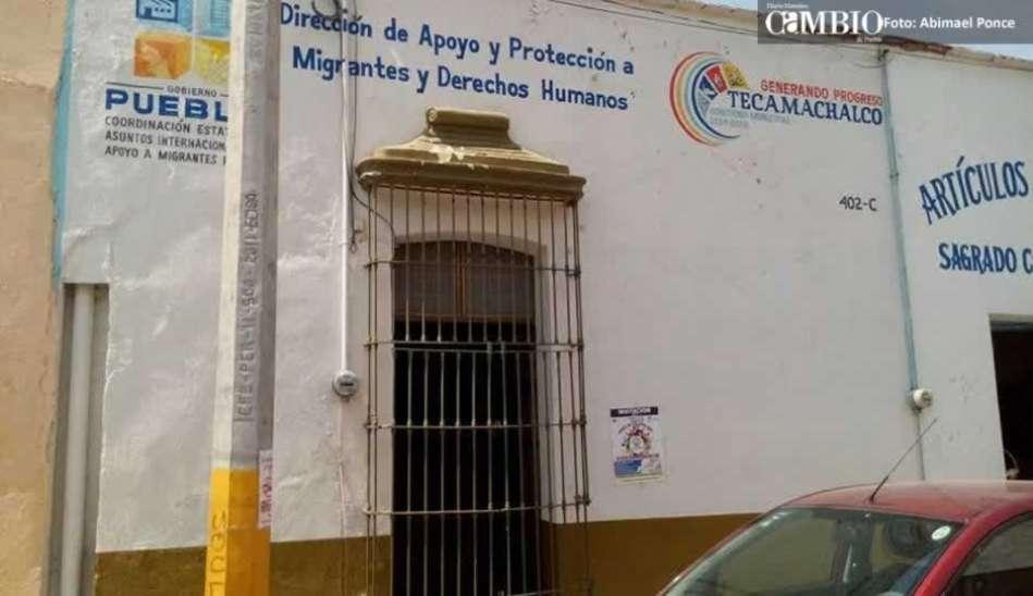 Cerrada y sin prestar servicio la casa del migrante en for Mural de la casa del migrante