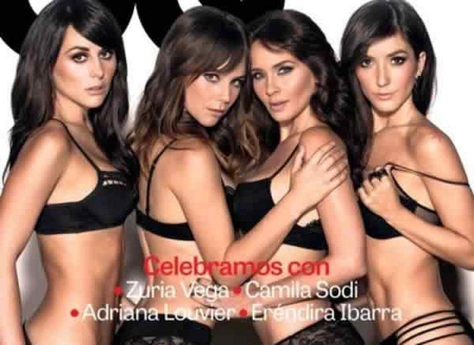 Zuria Vega y Camila Sodi se ponen sexys para GQ (FOTOS)