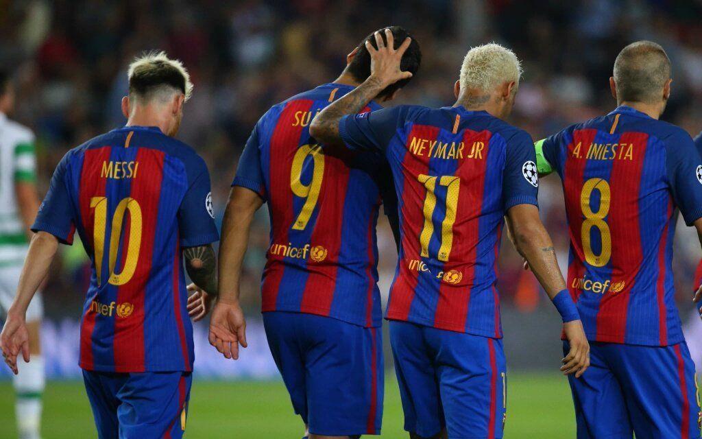 Messi, Neymar, Suarez ...
