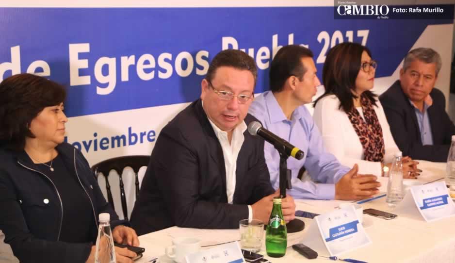 Defiende PAN incremento de 3 mil mdp para Puebla en PEF 2017