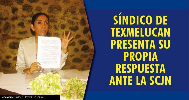 Síndico de Texmelucan presenta su propia respuesta ante la SCJN