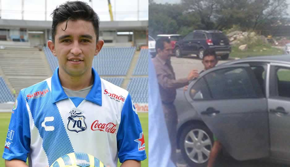 Hobbit Bermúdez, detenido en Puebla