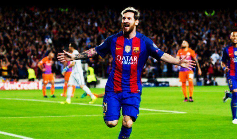 El Barcelona golea 4-0 al Manchester City con triplete de Messi