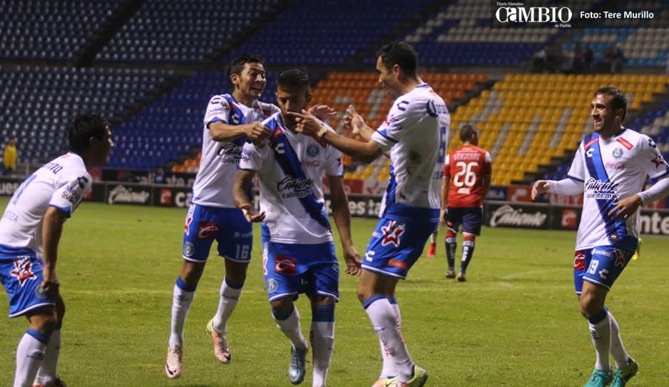Pachuca rescató el empate ante Puebla