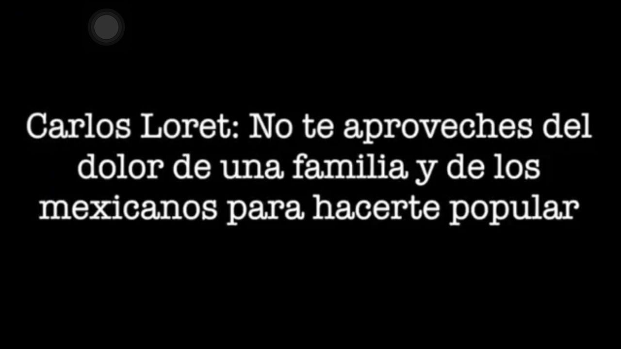 Insultan a Loret de Mola por criticar a Juan Gabriel
