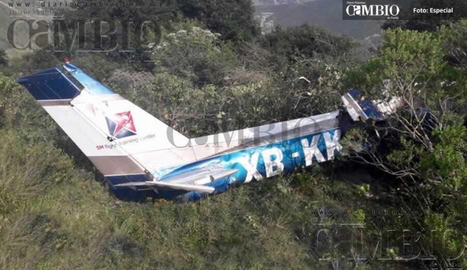 Cae avioneta en límites de Puebla y Veracruz