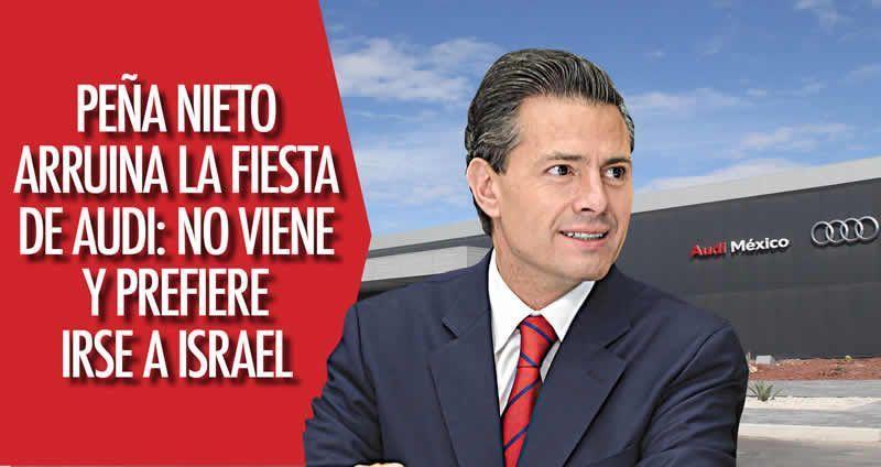 Inauguran nueva planta de Audi en Puebla
