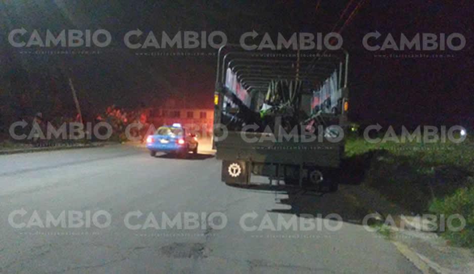 Aseguran en Texmelucan 50 vehículos de huachicoleros