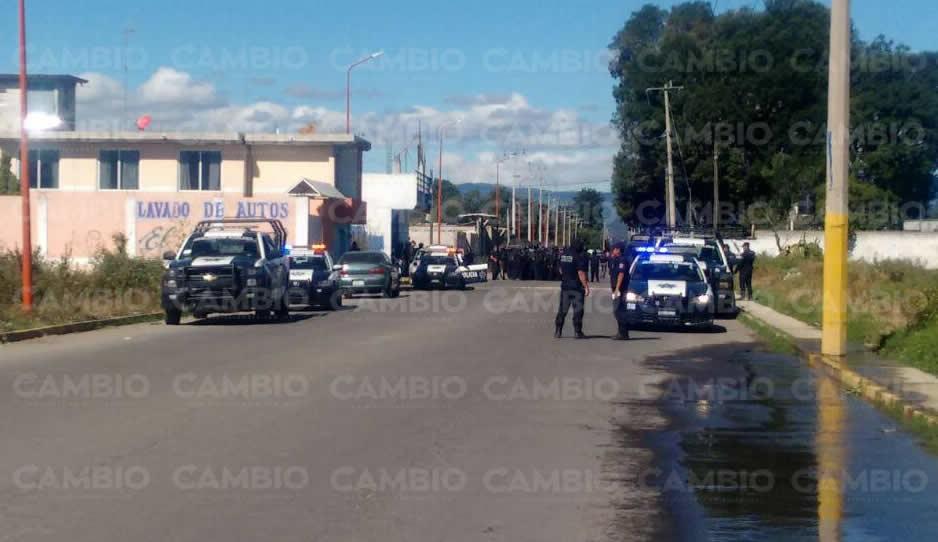 Retienen a agentes de la PGR en Puebla