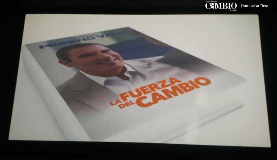 Tribunal ordena investigar publicidad del libro de Moreno Valle