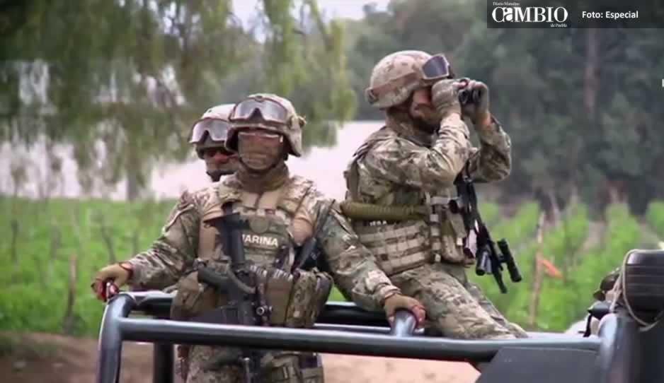 Saldo de dos militares fallecidos por volcadura en Puebla