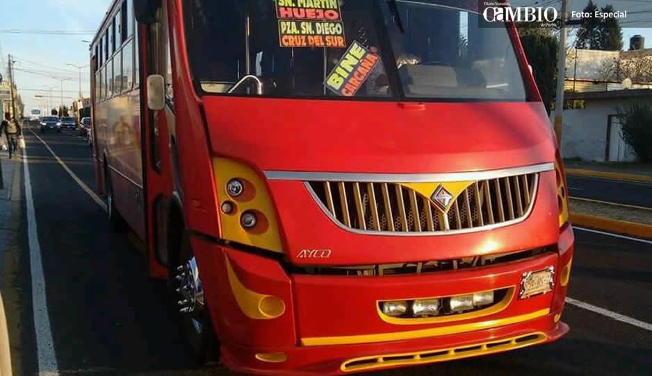 Disparos en autobús durante asalto en Juan C. Bonilla