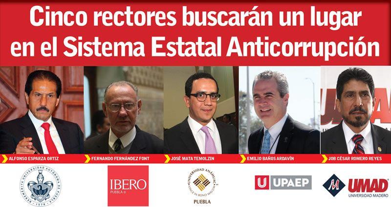 Propone UPAEP a José Antonio Quintana para el Sistema Estatal Anticorrupción