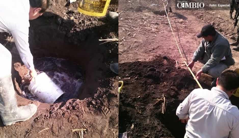 Detectan 4 tomas clandestinas en Puebla