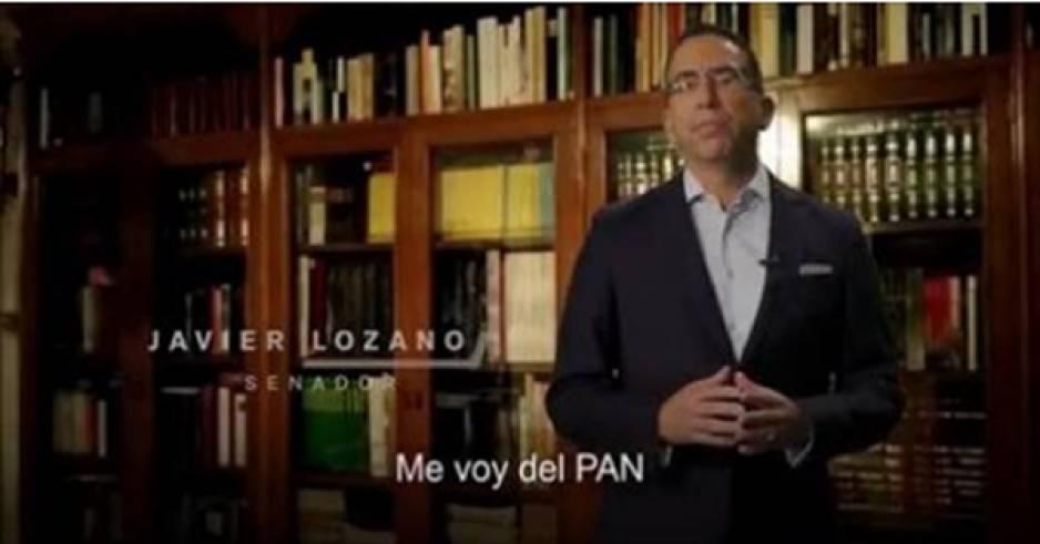 Javier Lozano deja Acción Nacional