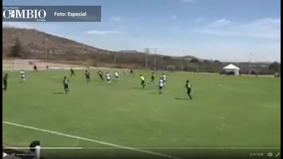 Sub 20 del Puebla vence 2-0 a chivas (VIDEO)