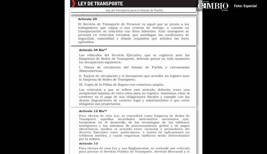Cancelan concesión de Cabify en Puebla