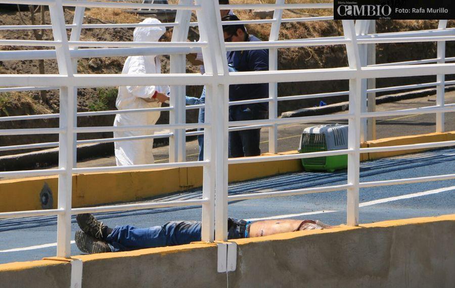 Asesinan a un hombre a disparos en la ciclopista de Periférico