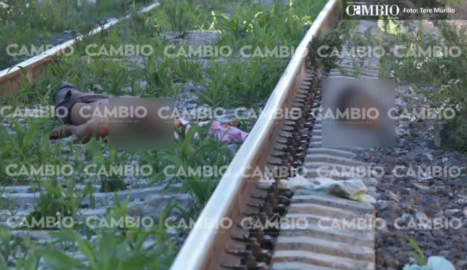 ¡Sin cabeza! Tren decapita a joven en Xochimehuacán