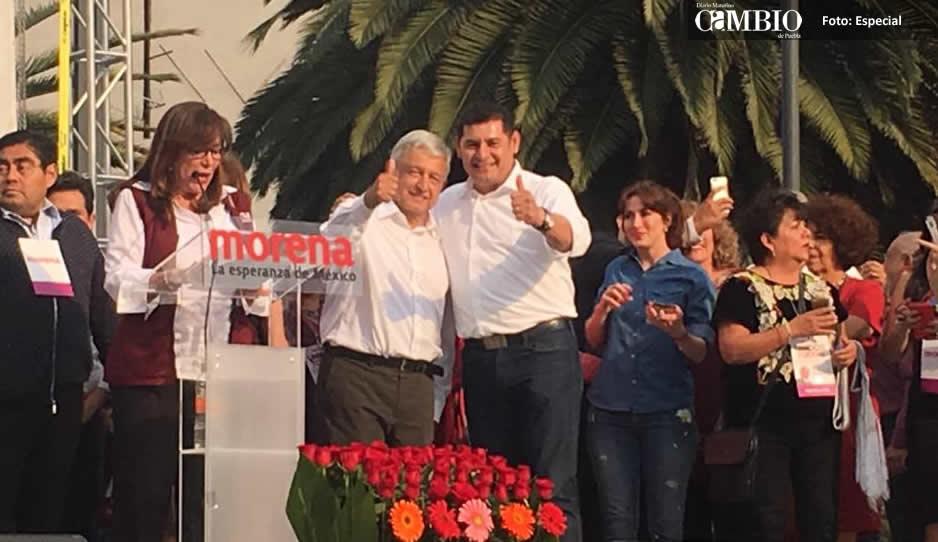 Ediles se desmarcan de Armenta tras firmar pacto con Obrador