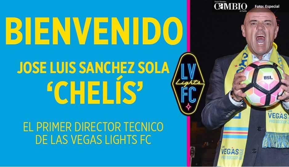 José Luis Sánchez Solá dirigirá a Las Vegas Lights de la USL