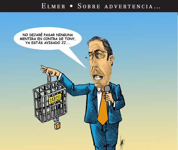 Monero Elmer : Sobre Advetencia