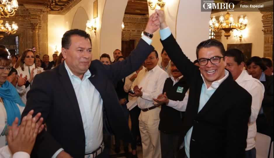 Emilio Salgado toma protesta como líder de Nueva Alianza